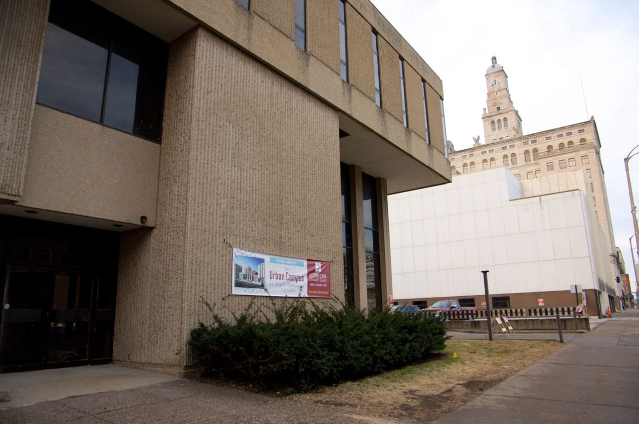 Entrance to EICC New Urban Campus