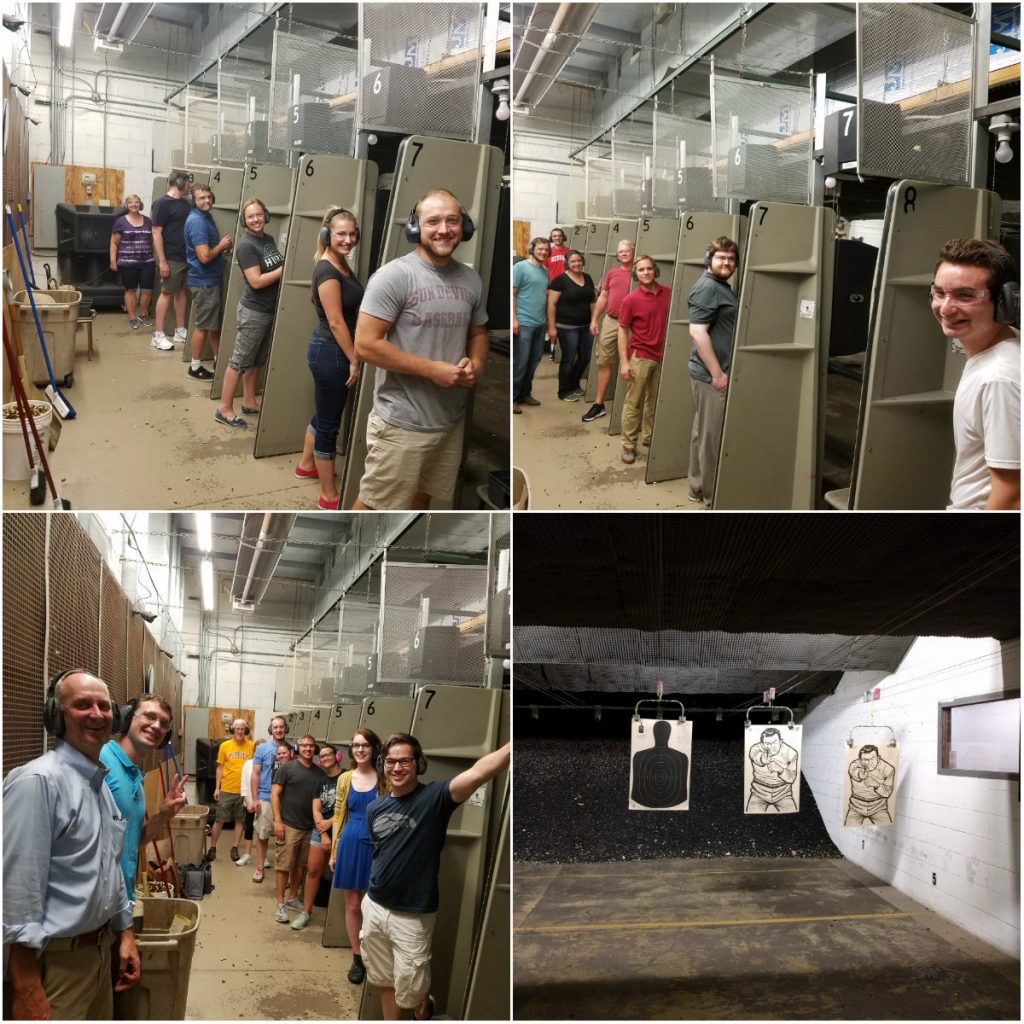 Gun Range Collage