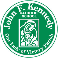 JFK Catholic School Logo