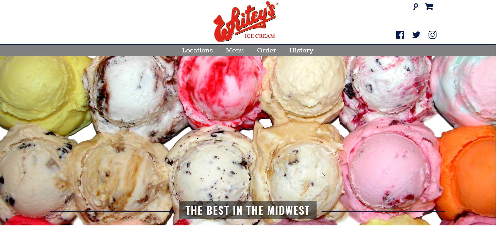 whiteys ice cream 2017 website