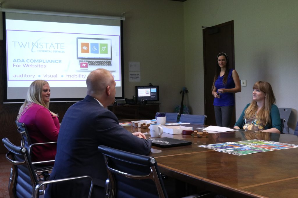 Team discusses ADA Compliance
