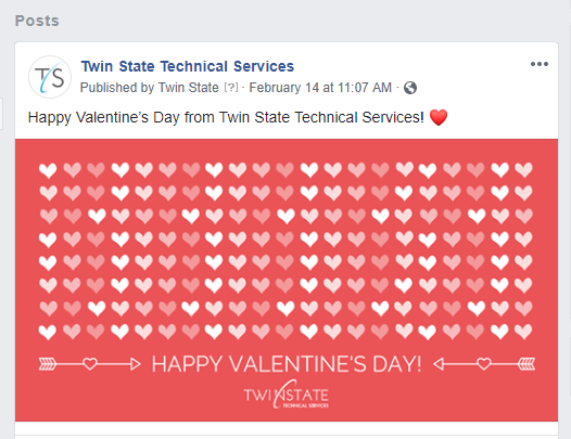 screenshot of Facebook comment