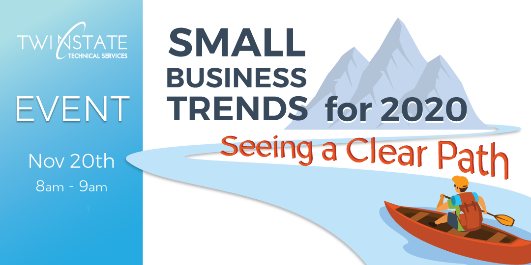 Small Business Trends Event November 20th 8-9am