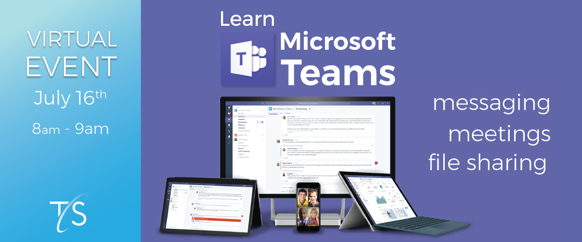 Learn Microsoft Teams Event Banner Image