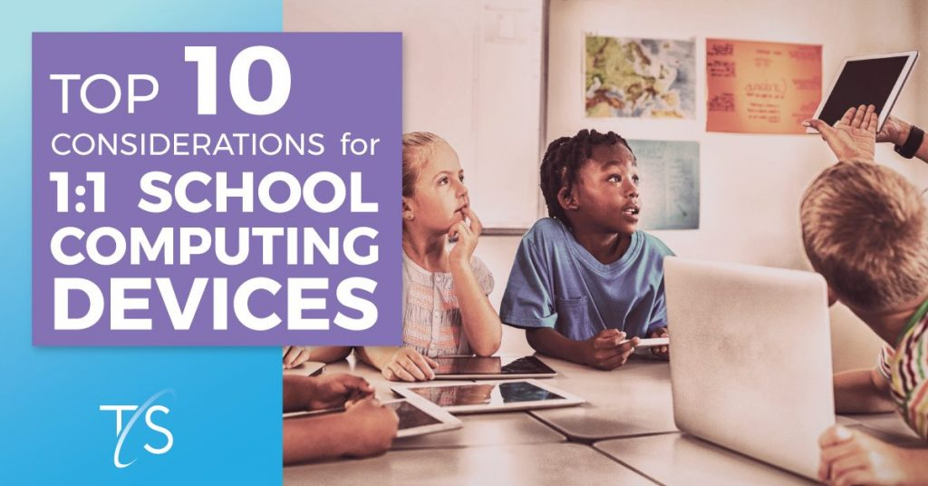 Banner for 1 to 1 school computing article