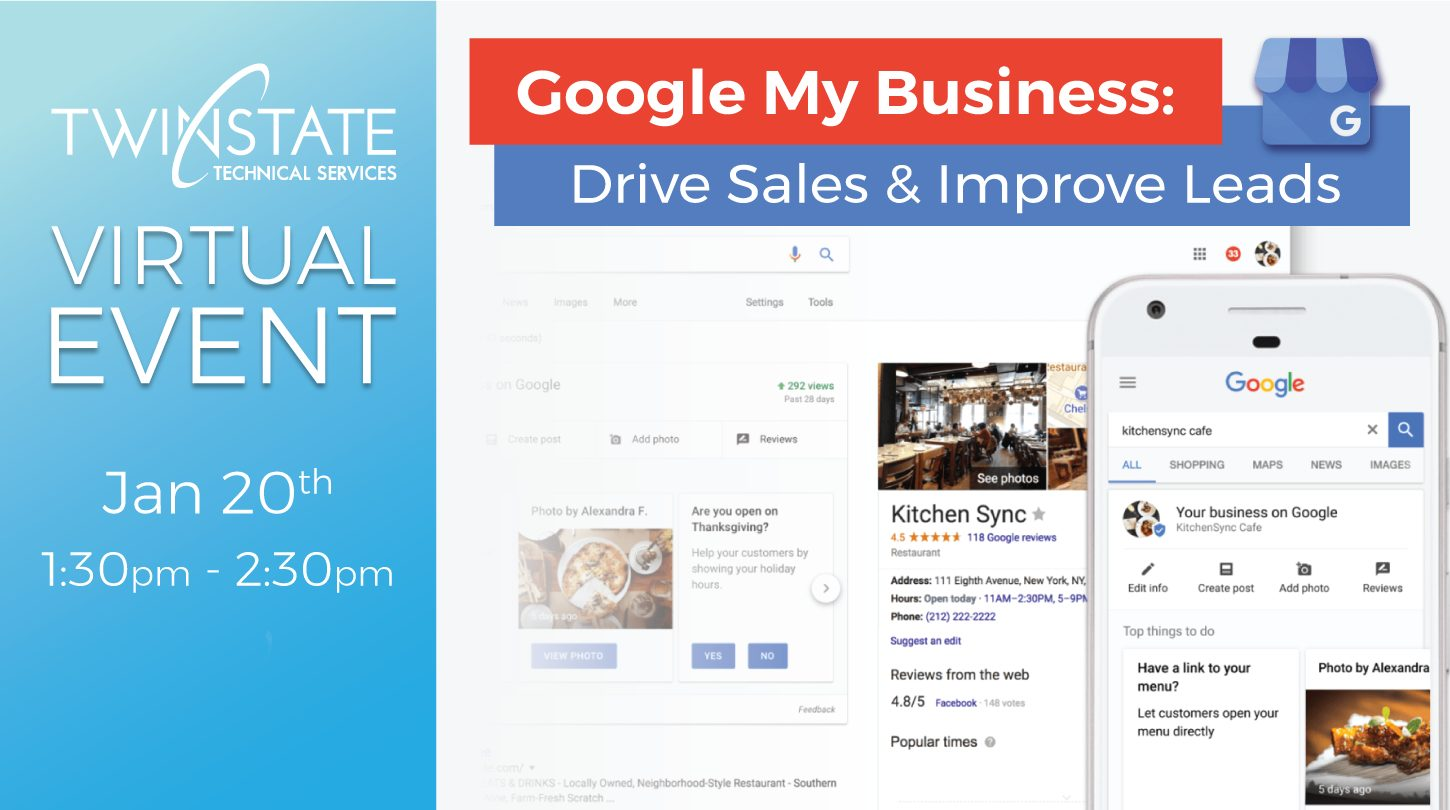 Banner image for Google My Business Event