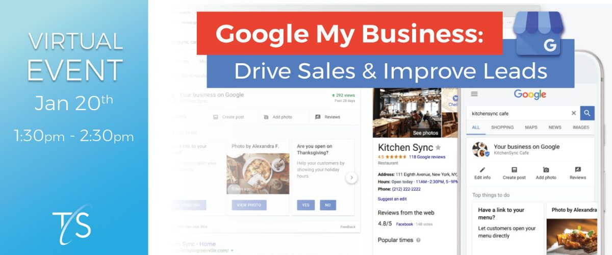 Banner for Google My Business Event