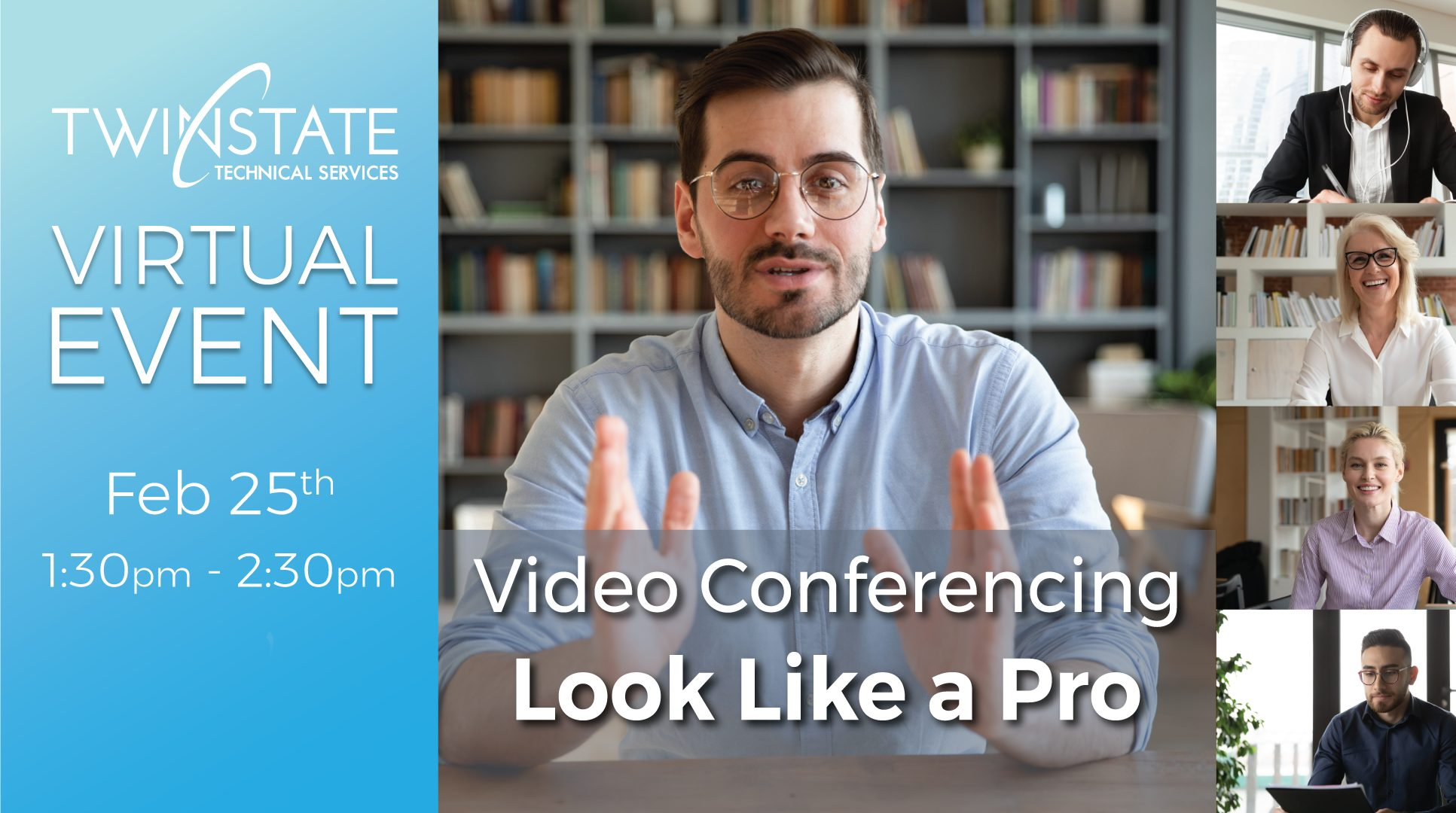 Banner Image for Professional Video Conferencing TipsEvent