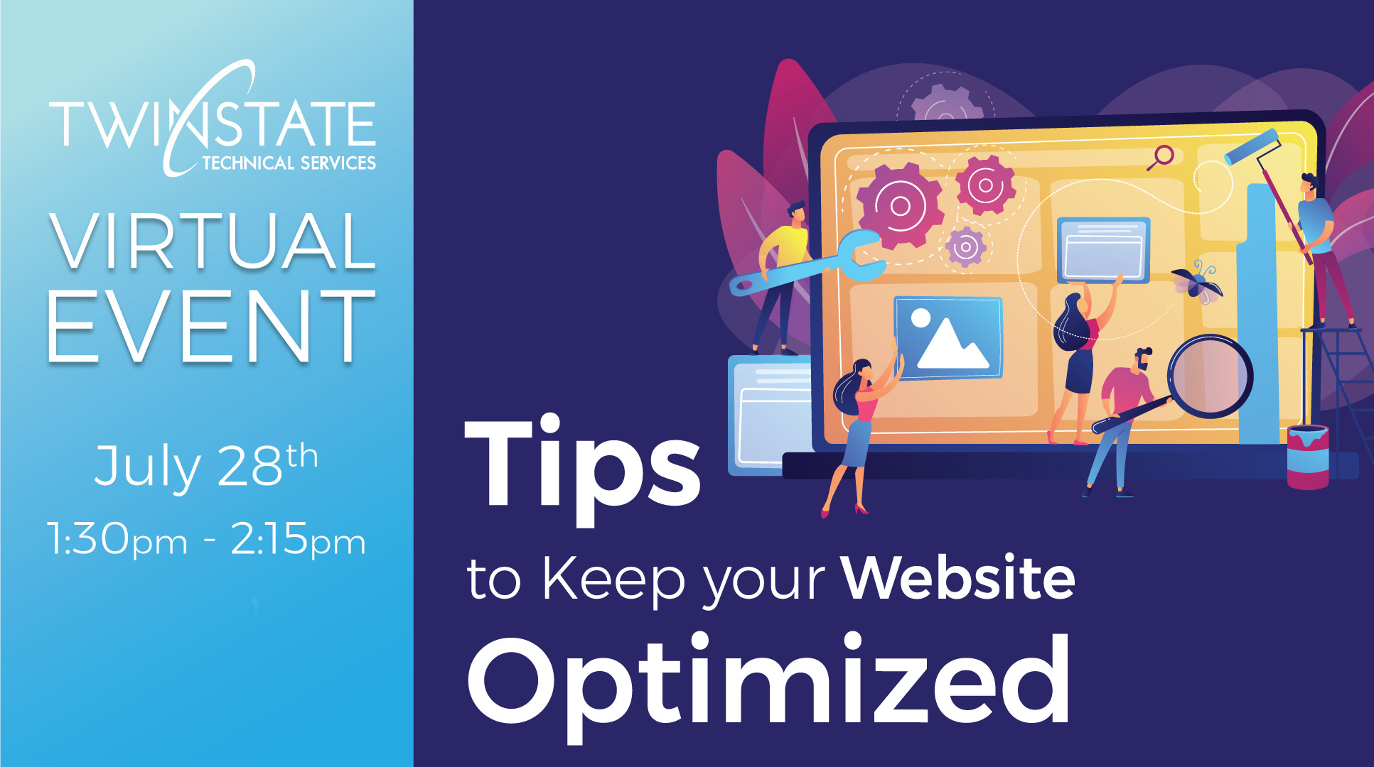 Event Page Banner: Tips to Keep Your Website Optimized